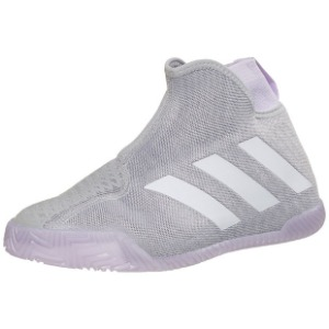 [아디다스 여성용 Stycon 테니스화] adidas Women`s Stycon Tennis Shoes - Gray Two and White