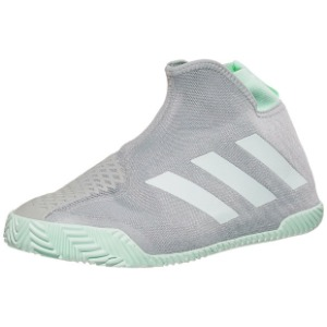 [아디다스 남성용 Stycon 테니스화] Adidas Men`s Stycon Tennis Shoes - Gray Two and White